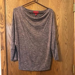 Knit Scoop-neck Top